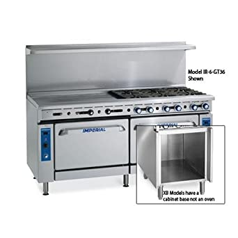 Amazon Com Imperial Commercial Restaurant Range 72 4
