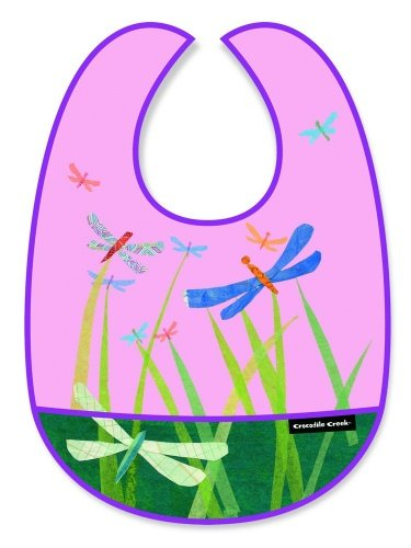 Crocodile Creek Bib (Crocodile Creek Bib - Dragonflies)