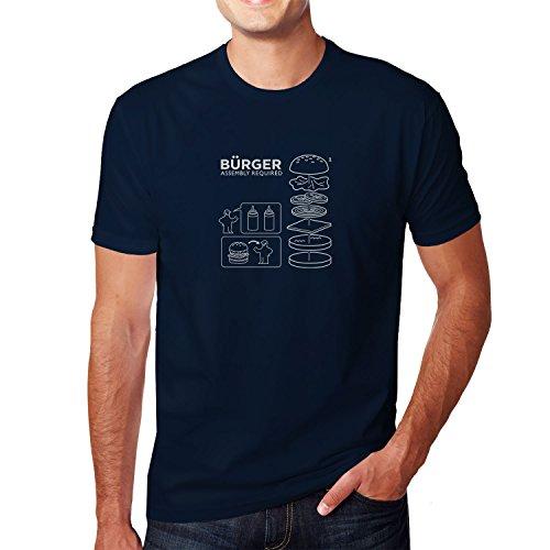 Planet Nerd - Bürger Assembly required - Herren T-Shirt, Größe XL, dunkelblau