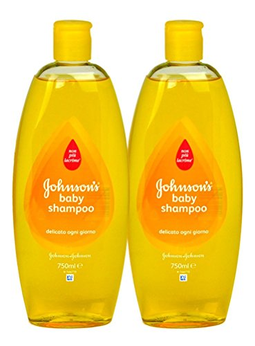 Johnson's Baby Shampoo, 25.3 Ounce / 750 ml (Pack of 2)