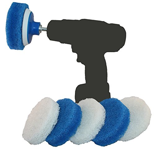 Price comparison product image RotoScrub Bathroom Cleaning Drill Accessory Kit