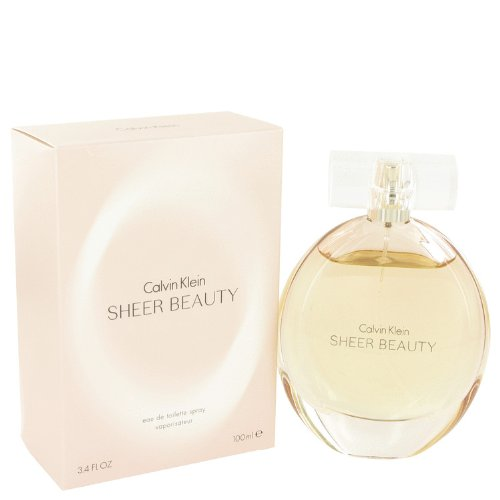 Cälvin Klȅin Sheȅr Beȧuty Perfumé For Women 3.4 oz Eau De Toilette Spray + a FREE Body Lotion...
