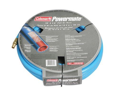 Coleman Powermate 012-0057CT 50 X 3//8 Blue 300 PSI PVC Air Hose