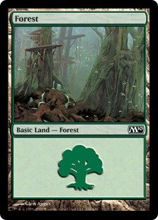 Magic the Gathering: Forest (246) - Magic 2010 Core Set