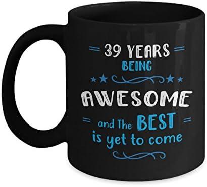 Amazon Happy 39th Birthday Mug