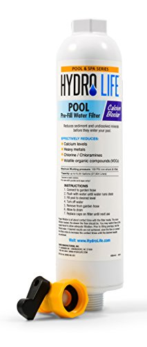 - Hydro Life 52804 Pool Pre-Fill Water Filter with Calcium Blocker