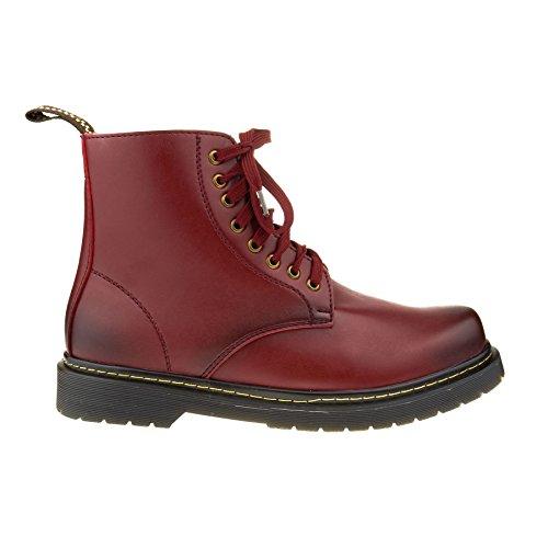 London Footwear ,  Herren Chelsea Boots burgunderfarben