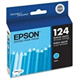 Epson DURABrite 124 Moderate Capacity Ink Cartridge - Cyan - Inkjet - 220 Page - 1 Each - T124220