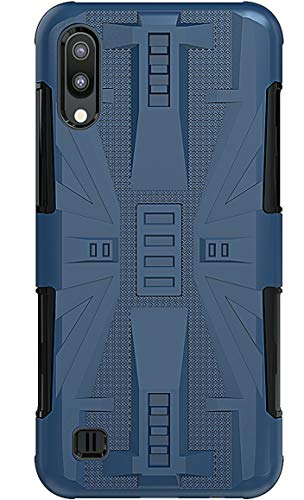 A10 Case 2019 Matte Compatible with Samsung Galaxy A10/M10 Smart Cover Soft TPU PC Samsum Gapaxy A M 10 Cases Utlra Thin Slim A10case for Sangsum A10 M10 Fundas 6.2 inch (Navy Blue)
