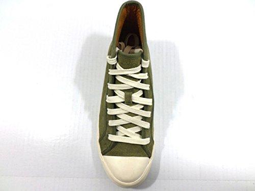 Zapatos Hombre Polo Ralph Lauren 40 EU Sneakers Gamuza Verde KY848 PIe2o2Ha