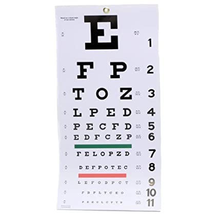 Amazon Emi Occ Snw Occluder Plus Snellen Eye Test Exam Plastic