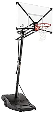 Silverback NXT Portable Height-Adjustable Basketball Hoop Assembles in 90 Minutes