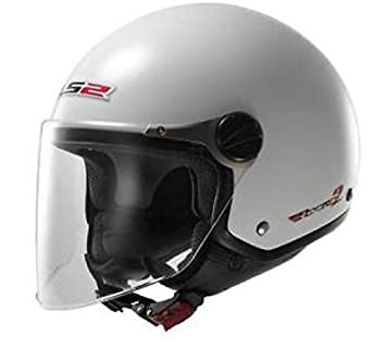 305601002/S CASCO LS2 OF560 ROCKET 2 S BLANCO BRILLANTE