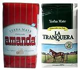 Yerba Mate Sampler 6 Pack 1.1 lb Ea Variety Flavors Bags Green Loose Herbal Tea