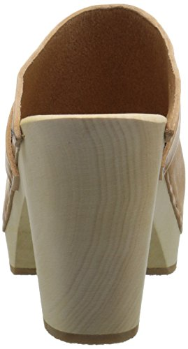 Super Women's In High Mule Nature Slip hasbeens swedish ITxF5twqI