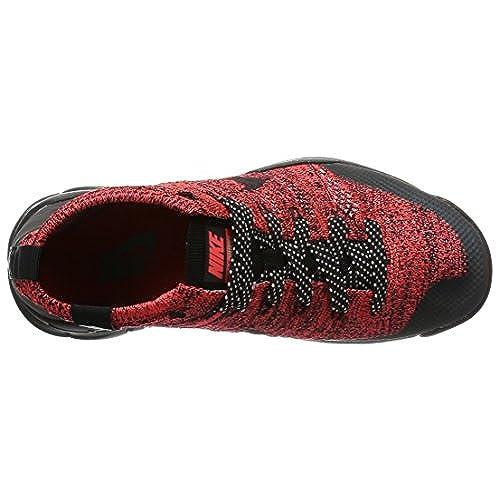 7afec829f67ad 70%OFF Nike Womens W Flyknit Trainer Chukka FSB Bright Crimson Black-Sequoia