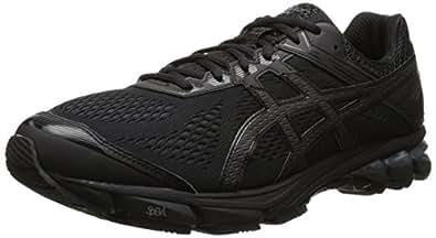 ASICS Men's GT 1000 4 Running Shoe, Black/Onyx/Black, 6 M US