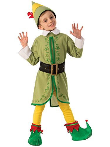 Rubie's Child's Elf Buddy Costume, Small ()