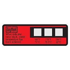 DayMark Dishwasher Temperature Labels, 1...