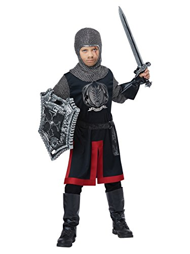 Dragon Knight - Child Costume Black/Red ()