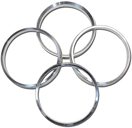 4 PCS Polycarbonate Hubcentric Rings Hub Centric Rings 64.1x78.1mm