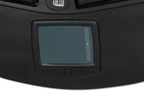 Adesso 105KEY PS2 TRU-FORM PRO ERGO TOUCHPAD KEYBOARD BLACK HOT KEYS by Adesso (Image #3)