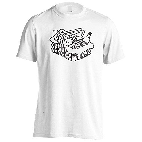 Neues Picknick Picknick Essen Wein Herren T-Shirt m369m