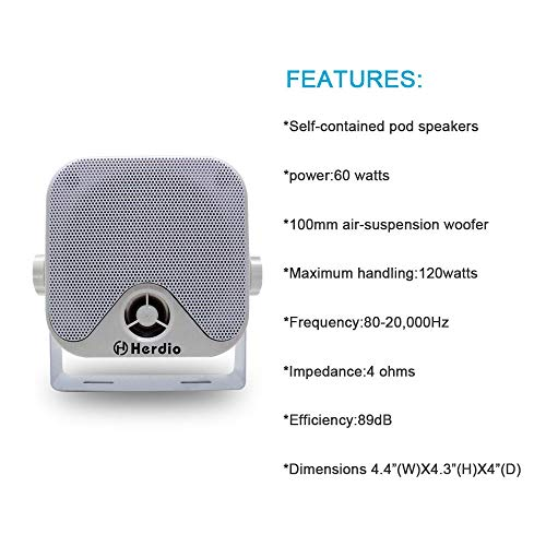 Buy compact car speakers