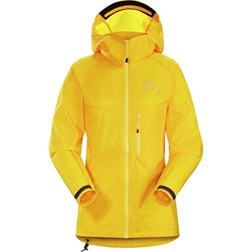Arc'teryx Squamish Hooded Jacket - Women's Golden Poppy, XL