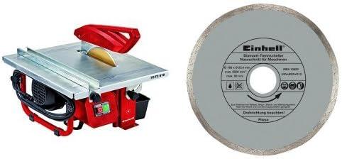 Einhell TH-TC 618 - Mesa Corte cerámico (600 W) color rojo y gris ...