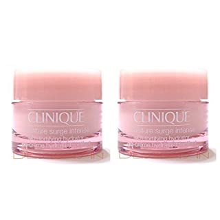Clinique Moisture Surge Intense Skin Fortifying Hydrator .5 OZ. / 15 ml Each (Lot of 2)