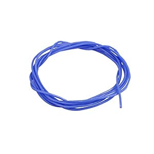 28AWG Gauge Flexible Stranded Copper Cable Silicone Wire Blue 1M Length for RC by Ugtell