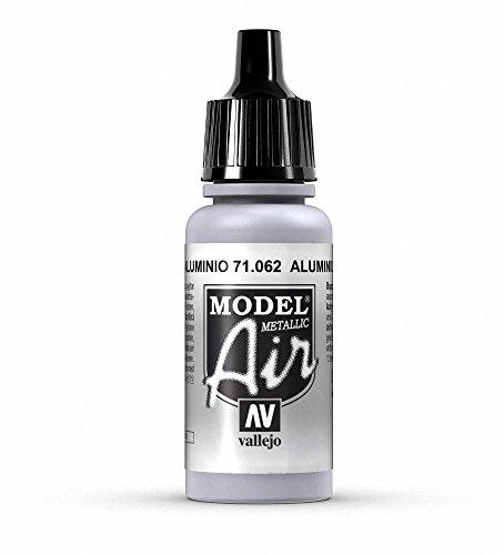 Vallejo Aluminum Paint, 17ml (Aluminum Acrylic)