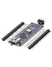 AZDelivery Nano V3.0 Mini USB Board ATmega328 5V 16MHz CH340 ATmega328P Micro Controller, CH340G vervangt FT232RL, Inclusief E-Book!