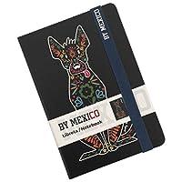 BY MEXICO Libreta Rayada modelo Xoloescuincle negro
