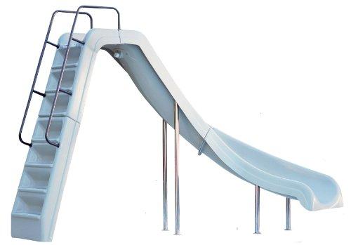 Inter Fab Water Slide (Inter-Fab WRS-CRT-SS Water Pool Slide, Wild Ride, Tan)