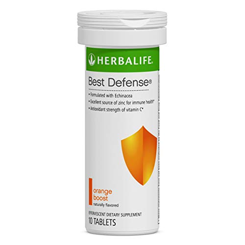 - Best Defense 10 Effervescent Tablets Naturally Flavored Immune System Booster with Echinacea & Vitamin C