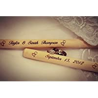 Personalized Laser Engraved Wooden Drumsticks
