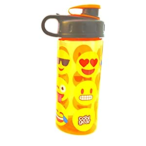 Cool Gear 16 fl oz BPA Free Water Bottle with Emojis