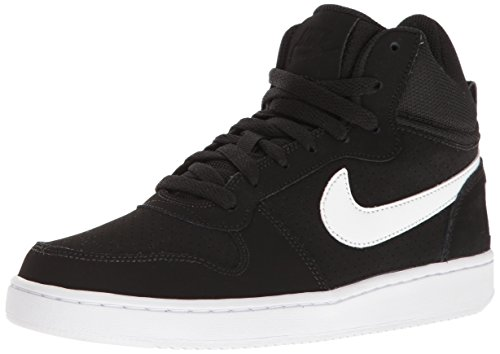 Black 010 Unisex White Shoes Mid Basketball Nike Adults' White Borough WMNS Court 1xwfnzBqP