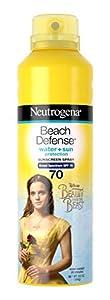Neutrogena Beauty and the Beast Beach Defense Spray Sun-Screen Broad Spectrum SPF 70, 6.5 Ounce