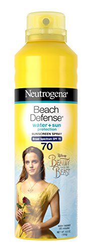 Neutrogena Beauty and the Beast Beach Defense Spray Sun-Screen Broad Spectrum SPF 70, 6.5 Ounce