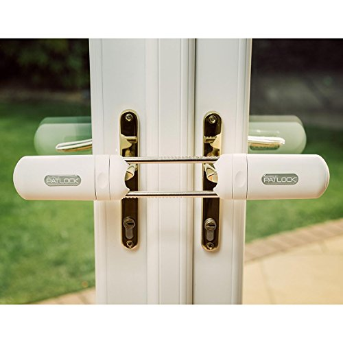 (Patlock Heavy Duty French Double Door Security Bolt Home Lock As Seen On TV)