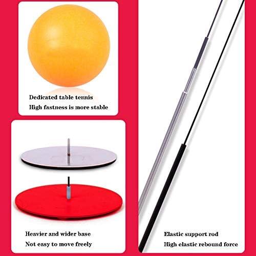 XUE Portátil Mesa de Ping Pong Mesa de Ping Pong Trainer Soft ...