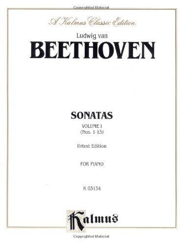 Sonata Nos (Sonatas, Vol. 1: Nos. 1-15 (Urtext Edition, for Piano))