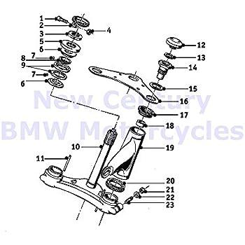 Amazon Com Bmw Genuine Motorcycle Fork Bridge Rubber Ring R65 R80