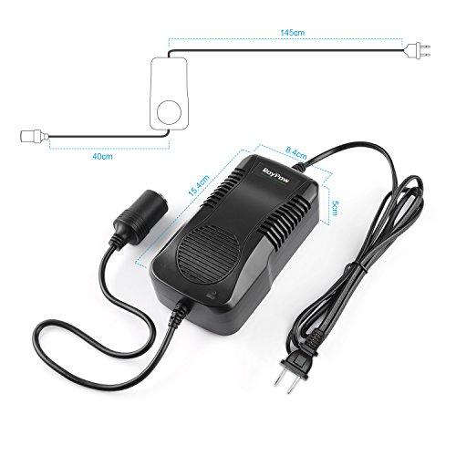 AC to DC Converter RoyPow 180W (Max 200W) 12V15A Power Supply Adapter Transformer 100V~120V to 11V/12V/13V/14V with Car Cigarette Lighter Socket by Roypow (Image #2)