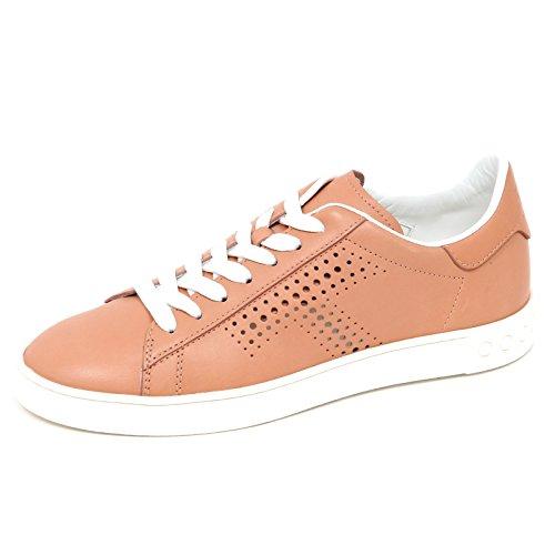 Cipria forata Scarpe Woman E2914 Sneaker Shoe Donna Scuro Tod's Cassetta XqFSPgPw