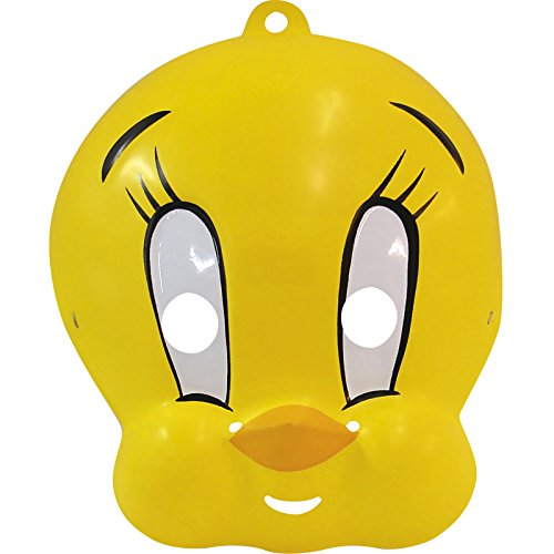 Rubie's Costume Co. 3039 Tweety Bird Pac Mask, One Size, Multicolor (Pack of 12)]()