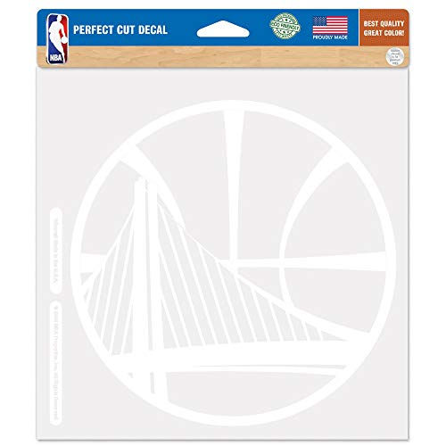 - WinCraft NBA Golden State Warriors WCR29734015 Perfect Cut Decals, 8